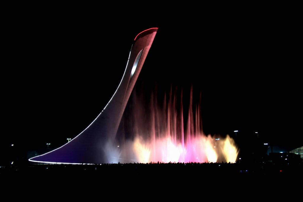 светомузыкальный фонтана