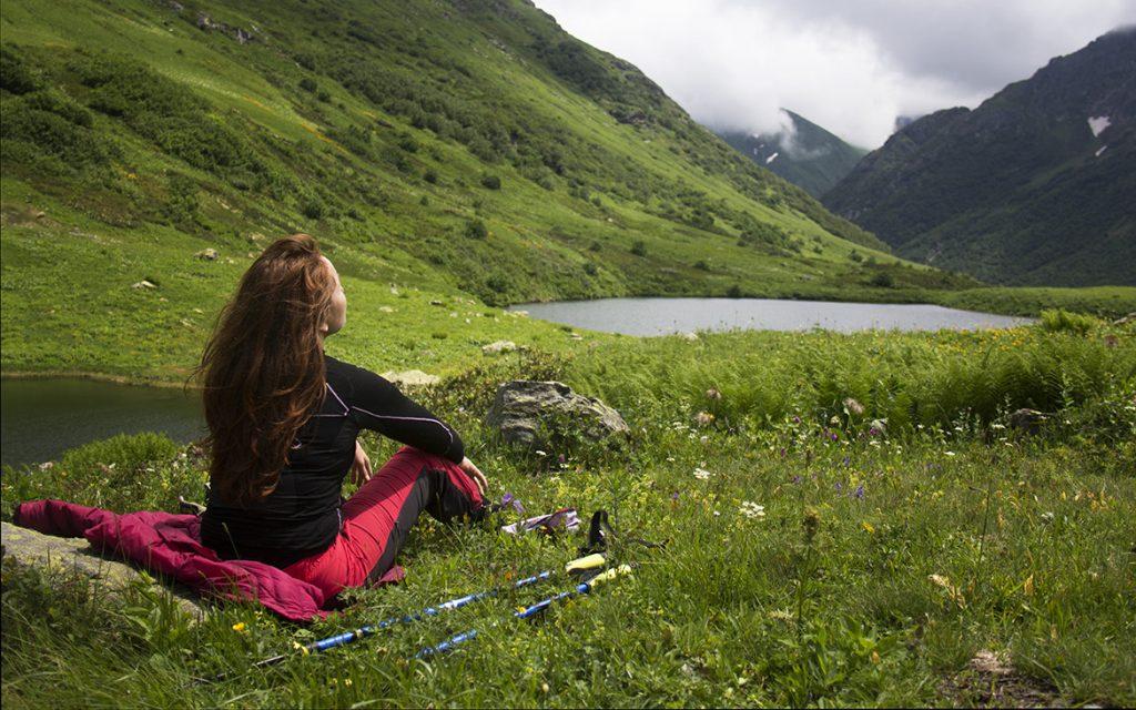 Йога тур в горах Абхазии. Легкие трекинги и восхождения